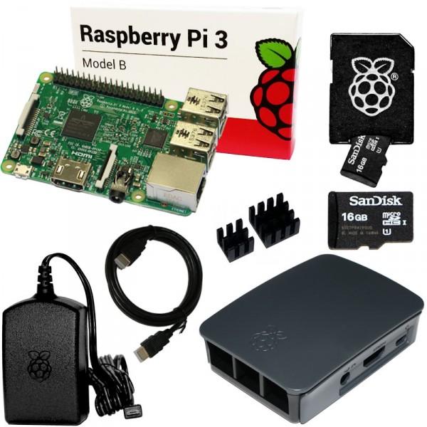 RPi3 - Bundle 16GB, schwarz