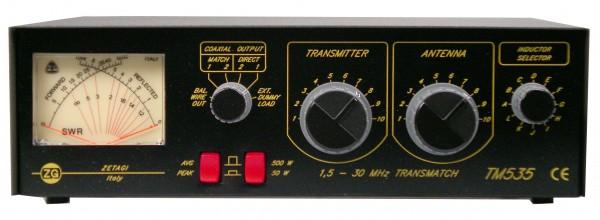 ZETAGI TM 535 Antennentuner/PWR Meter
