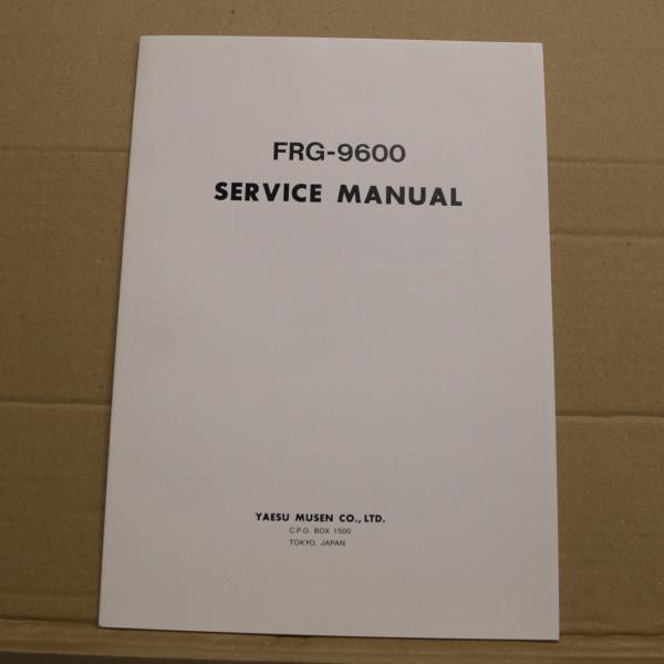 Yaesu FRG-9600 Service Manual